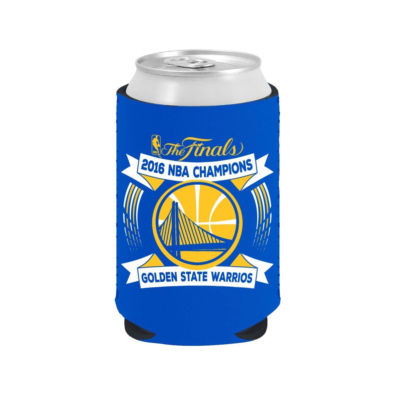 NBA Golden State Warriors 2016 Champions Kolder Kaddy Can, 350ml, Blue   B01GJ992KE