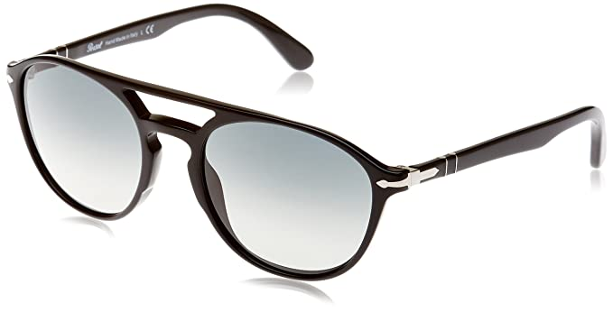 Amazon.com: Persol 0po3170s-901471 Negro -55 mm Mens: Clothing