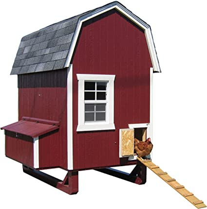 Little Cottage Company Gambrel Barn Coop 4 X6 Diy Chicken Coop Kit