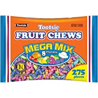 Tootsie Roll Frooties Fruit Rolls Mega Mix 8 Flavor Value Bag (Pack of 275)
