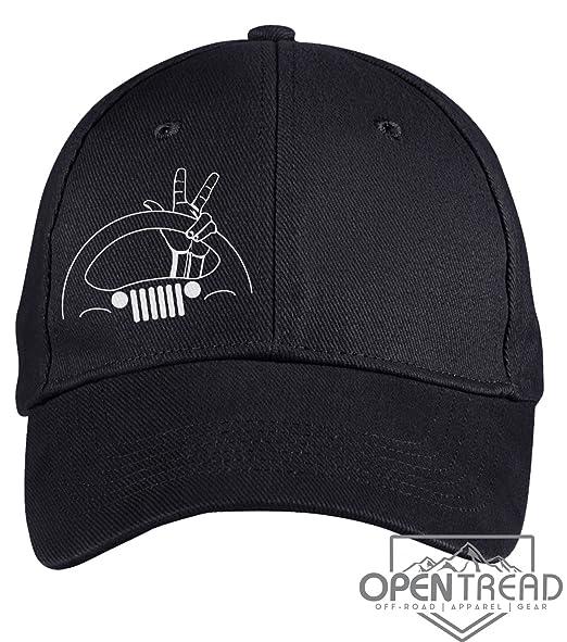 Jeep Wave Hat - Black - Jeep Hat at Amazon Men s Clothing store  8e82e7c16b4