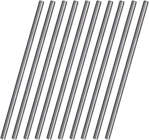 10x High Speed Steel Round Turning Lathe Carbide Bars 6mm Dia 100mm Long