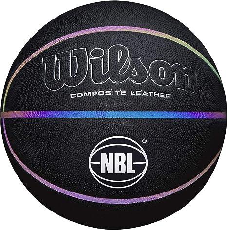 Wilson WTB2027ID07 Balón de Baloncesto, Luminous, Interior y ...