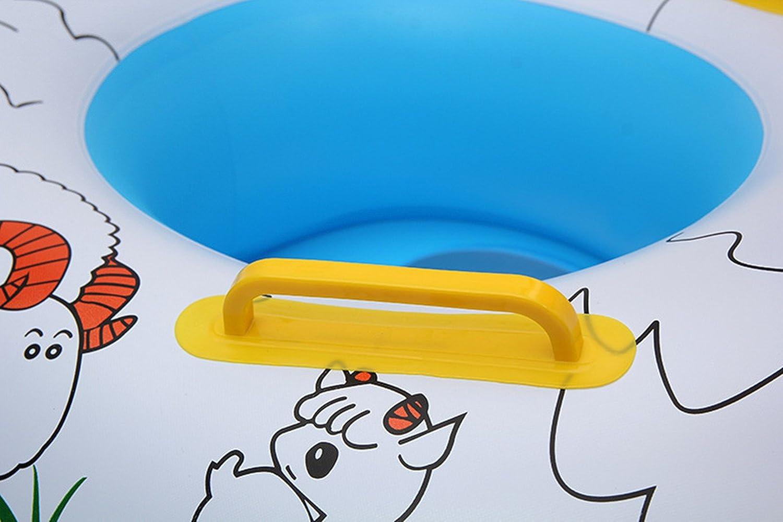 Anillo De Natación , Chickwin Cute Niños Infantil Hinchable De natación Anillo Flotador Asiento Barco Piscina Baño Aeguridad (Ovejas): Amazon.es: Deportes y ...