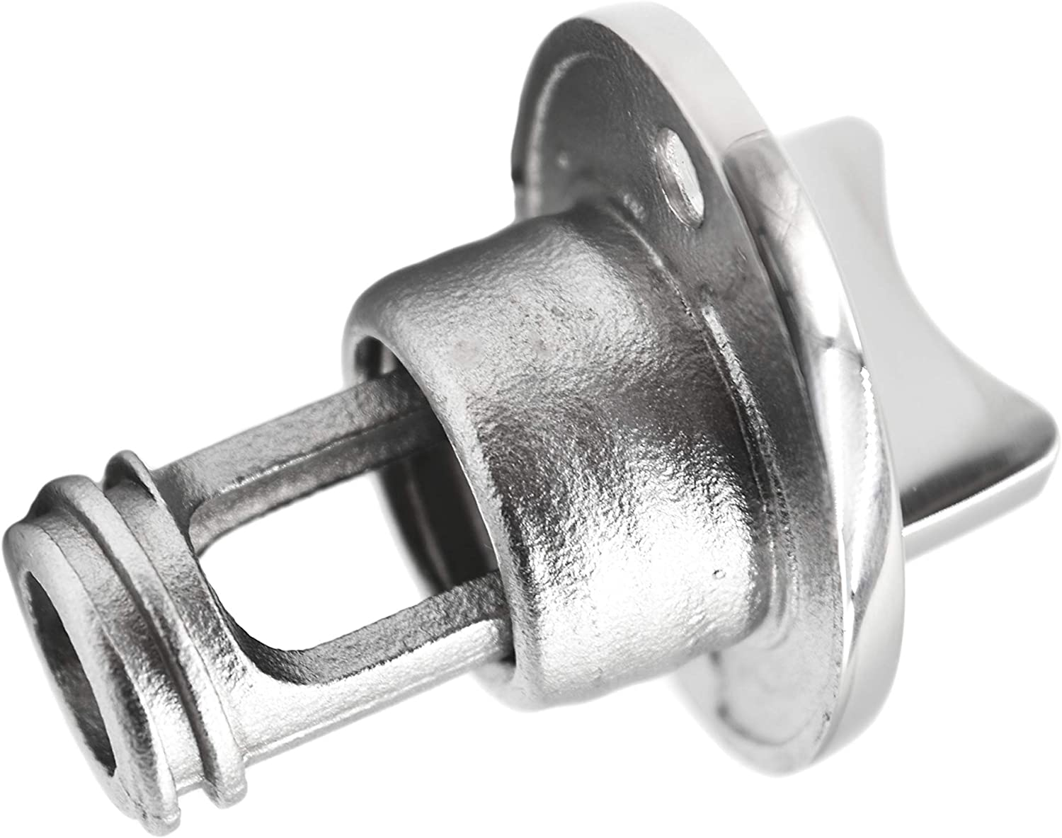 MARINE CITY 316 Stainless Steel Oval Drain Plug Fits 1 Inch Hole Thread for 3//4 Inches
