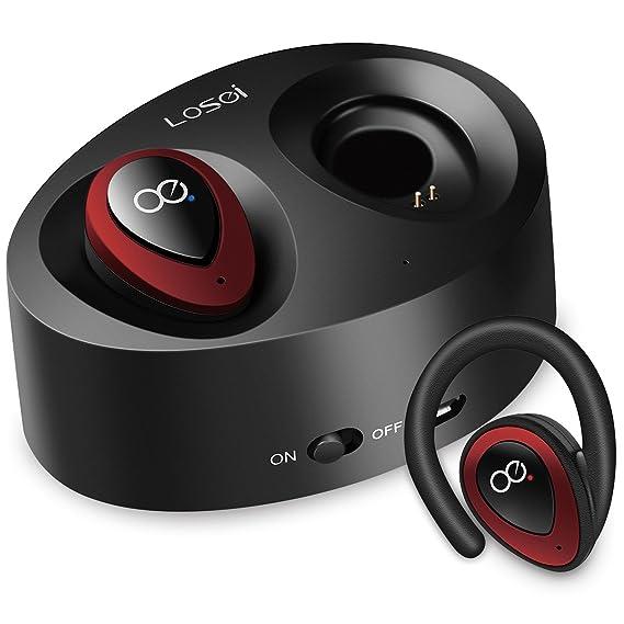 0b6c750435e Bluetooth Headphones, Losei Dual Wireless Earbuds True Mini Twins Stereo  Bluetooth Headset V4.1