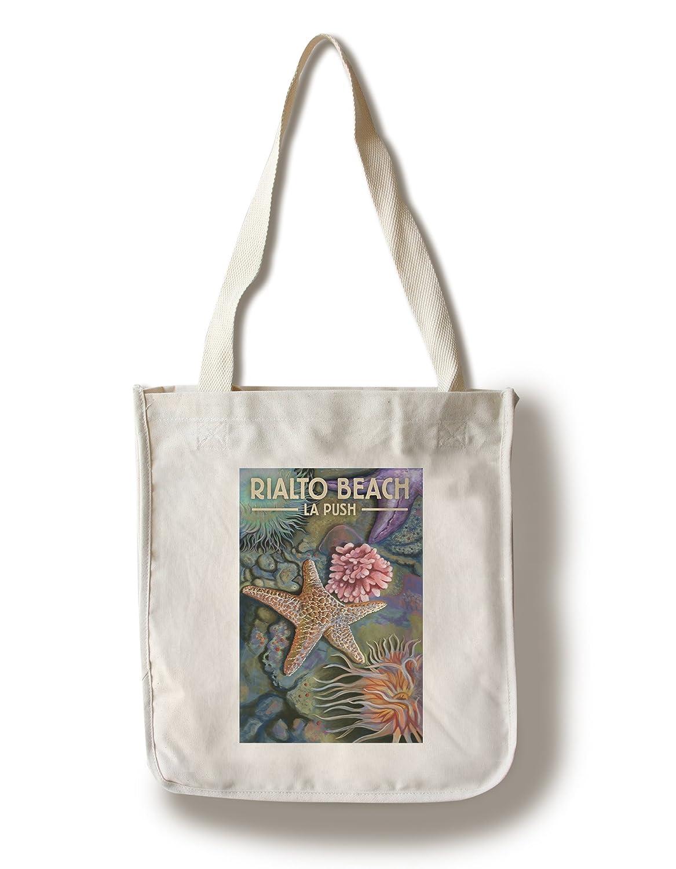 Rialtoビーチ、ワシントン – Tidepool Canvas Tote Bag LANT-80262-TT B072M3V85W  Canvas Tote Bag