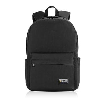 cb98feb5d195f REYLEO Laptop Rucksack Herren Wasserabweisend 15.6 Zoll Laptop Tasche  Backpack Für Arbeit Und Stadt Grau RB03