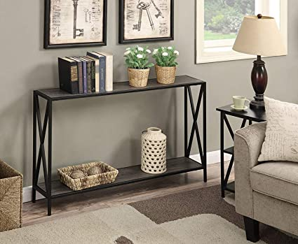 Tremendous Amazon Com Gray Entryway Console Table With Spacious Bottom Gmtry Best Dining Table And Chair Ideas Images Gmtryco