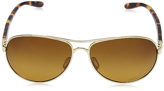 3f60d339ef Amazon.com  Oakley Womens Feedback Polarized Sunglasses