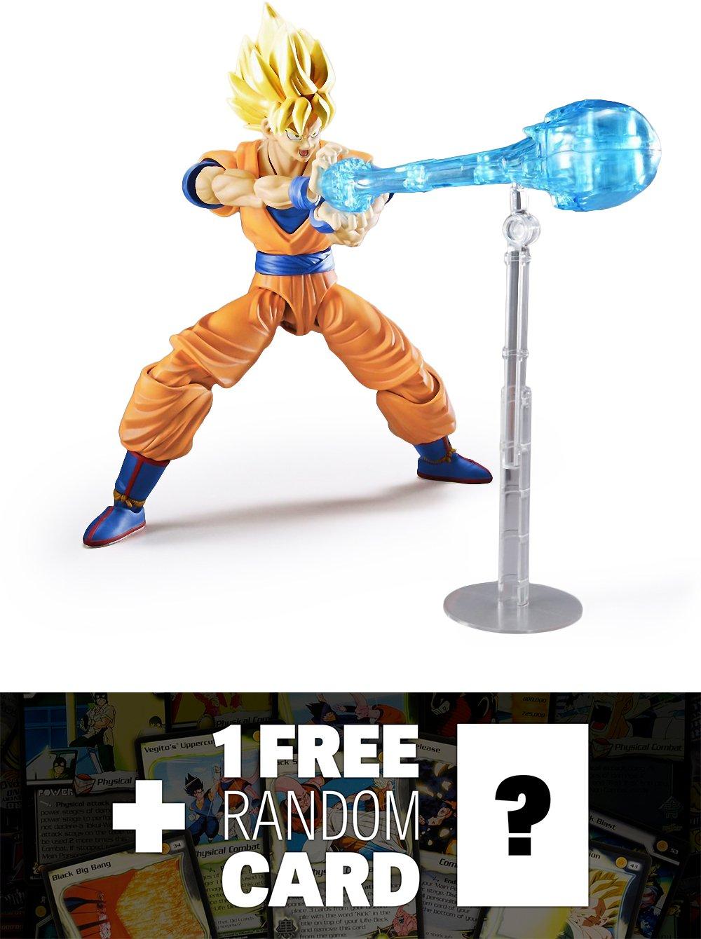 Super Saiyan Son Goku : DragonBall Z X figure-rise標準モデルキット+ 1 Free official Dragonballバンドル B01LZ7YNM5