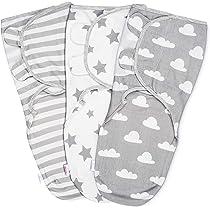 Manta Envolvente para Bebé y Recien Nacido – 3x Saco de Dormir ...