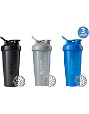 Classic Loop Top Shaker Bottle 3-Pack, 28 oz, Colors May Vary