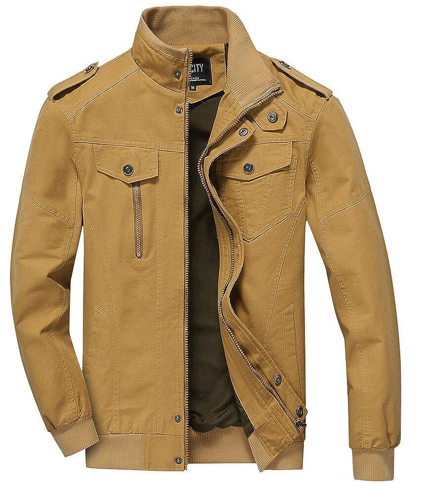 ZOPPO Men's Field Casual Cotton Outerwear Jacket Windbreaker 2701