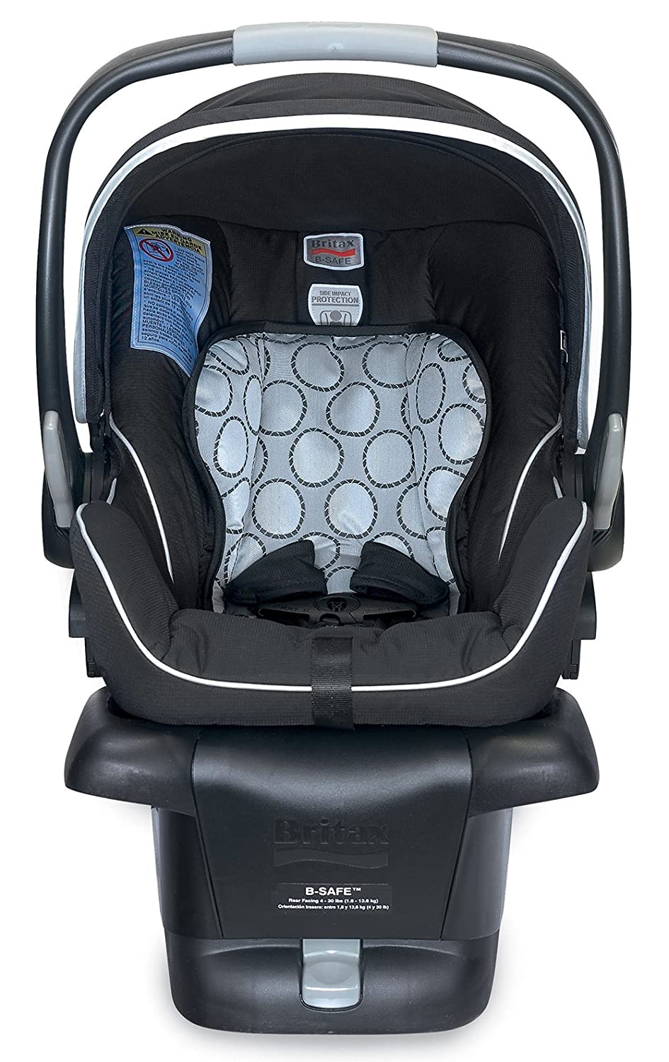 Amazon.com : Britax B-Safe Infant Car Seat, Black (Prior Model ...