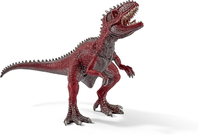Orange Schleich Giganotosaurus Toy Figure