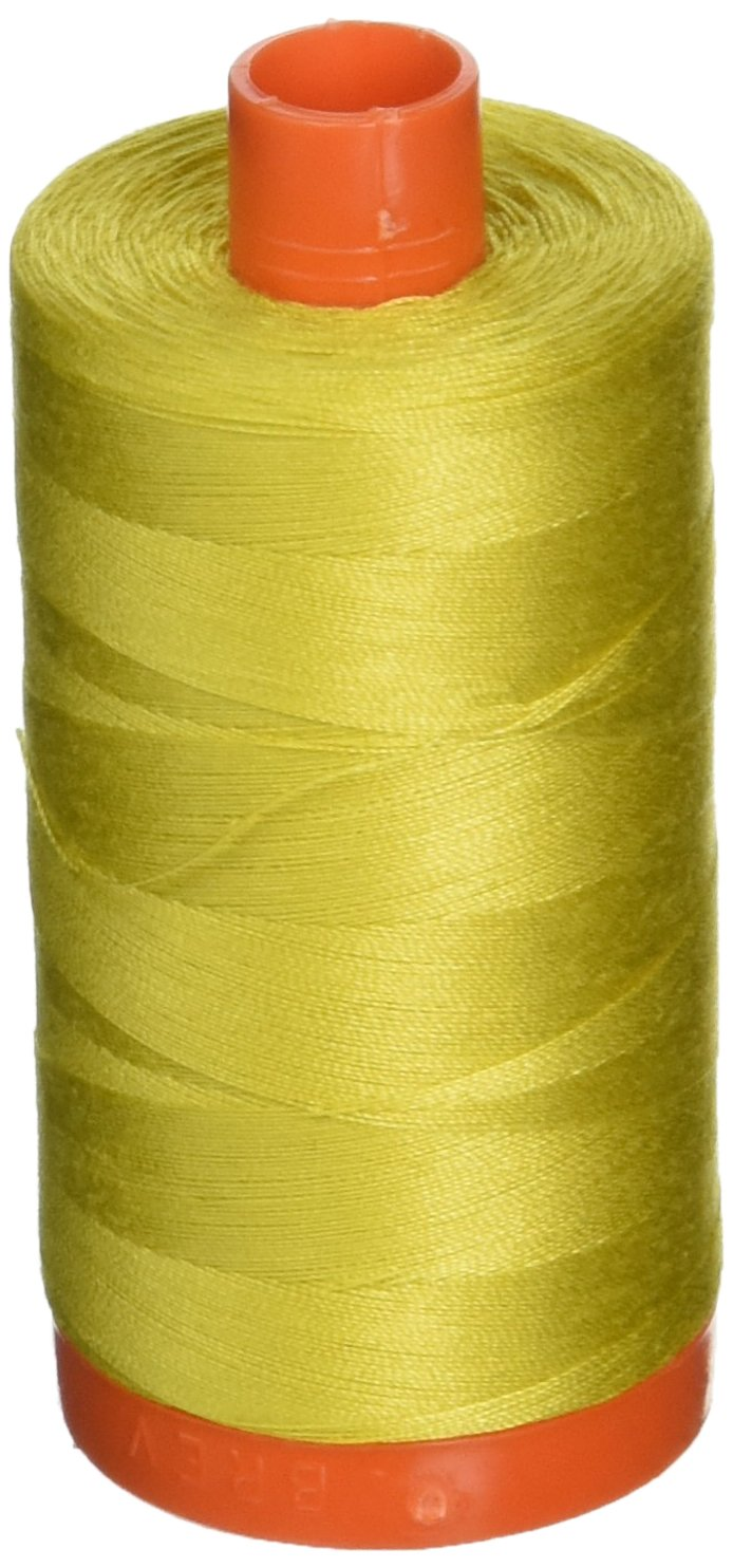 Aurifil Cotton Mako 50wt 1300m Light Yellow