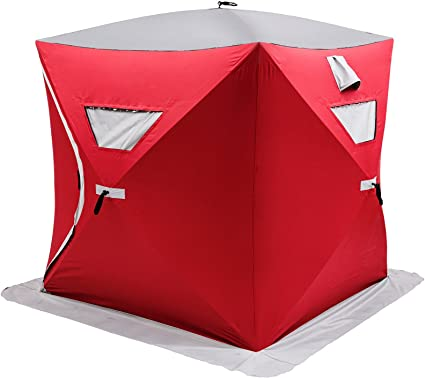 Ukiki Tente de Camping P/êche sur Glace R/ésistant /à leau P/êche en Plein Air Abri de Personnes Tenda da Pesca Sul Ghiaccio 300d Tissu Oxford Tissu Tenda da Campeggio Abris pour Poissons sur Glace