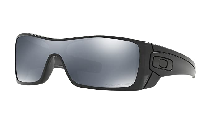 8c6979e84f0 Amazon.com  Oakley mens Batwolf OO9101-35 Iridium Polarized Sport ...