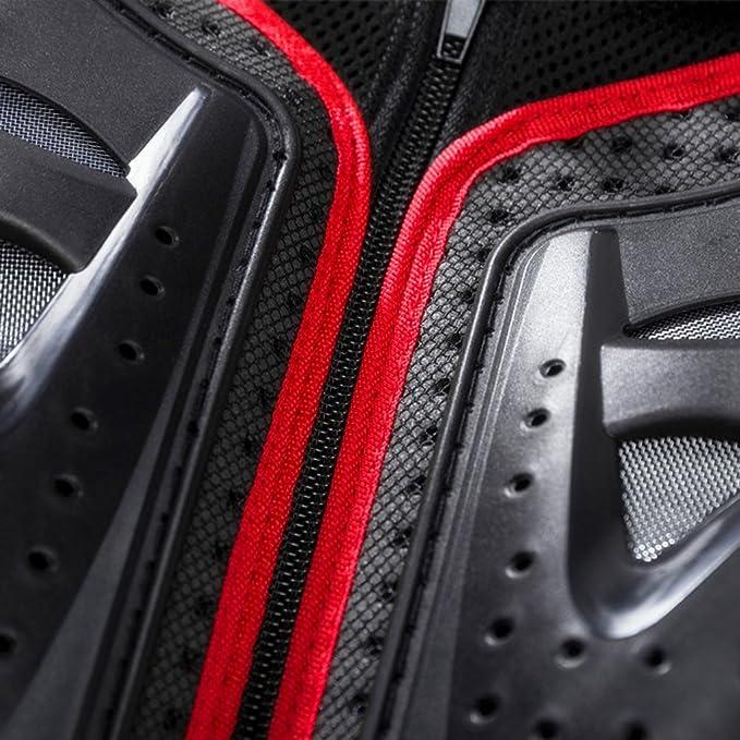 LANGYINH Veste de protection int/égrale pour moto avec protection de la poitrine et du dos