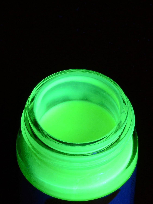 UV brilla en la oscuridad pinturas para tela 20 ml, color ...