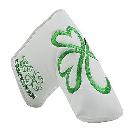 Artesano Golf verde trébol de la suerte para palos de golf ...