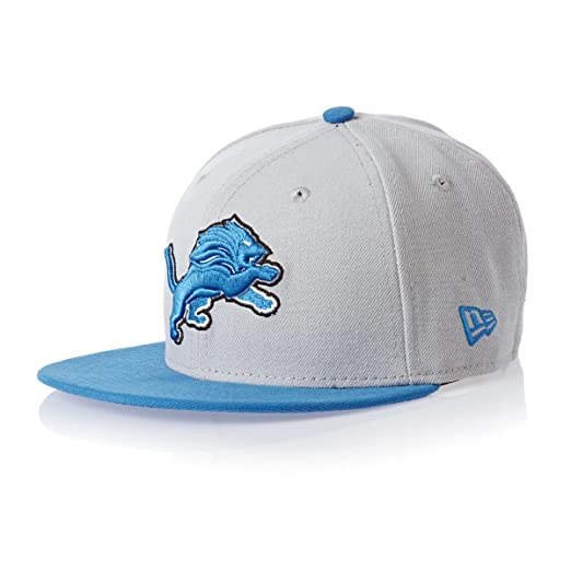 best cheap 15951 b9712 Amazon.com   NFL Child Detroit Lions On Field 5950 White Game Cap By New Era    Sports Fan Baseball Caps   Clothing