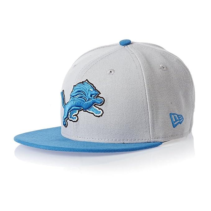 Amazon.com   NFL Detroit Lions On Field 5950 Game Cap f0f9e640ea81