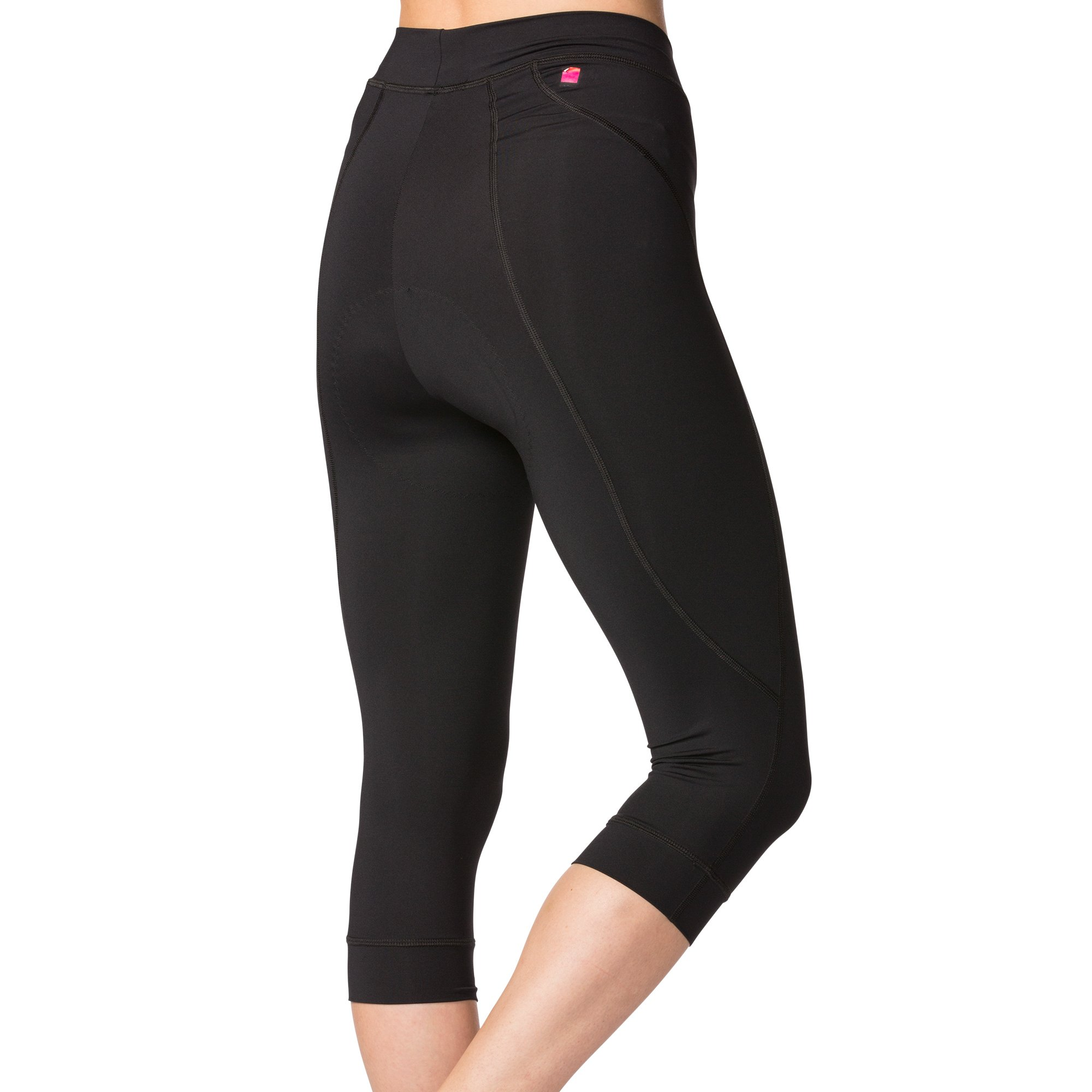 Terry Highly Rated Breakaway Performance Cycling Knickers For Women - Improved For 2018 With More Padded Fleet Chamois - Black - Small by Terry (Image #2)