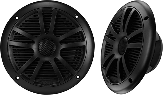 "BOSS AUDIO 180W 6-1//2/"" 2-WAY SPEAKER BLACK"