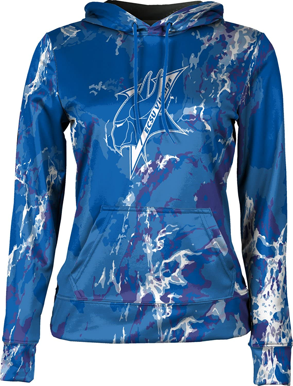 Elizabeth City State University Girls Pullover Hoodie School Spirit Sweatshirt Marble