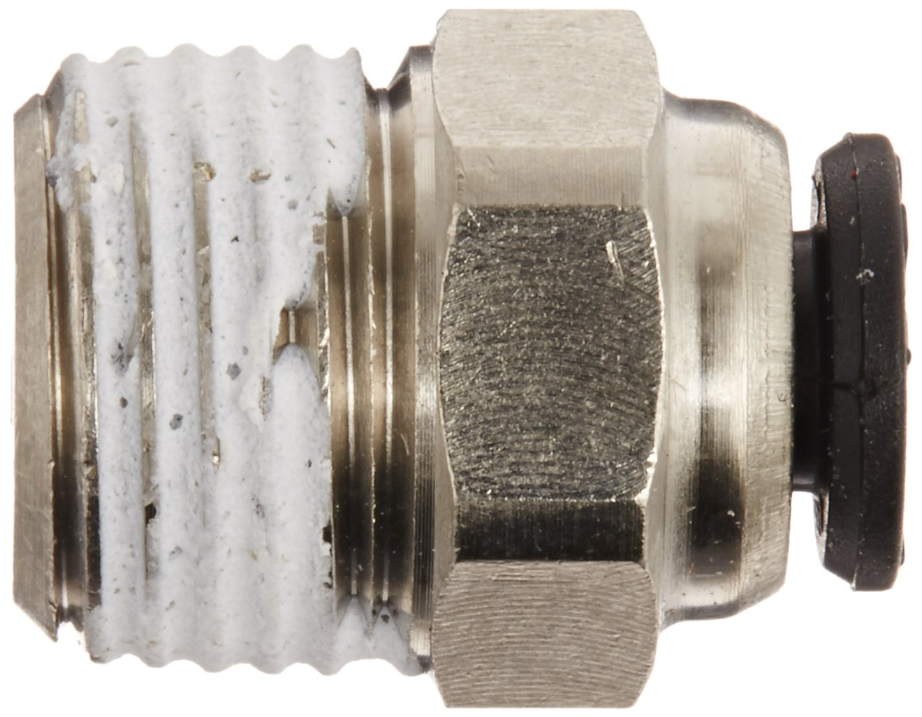 Legris 3175 53 10 Nickel-Plated Brass Push-to-Connect Fitting Inline Connector 1//8 Tube OD x 1//8 BSPT Male