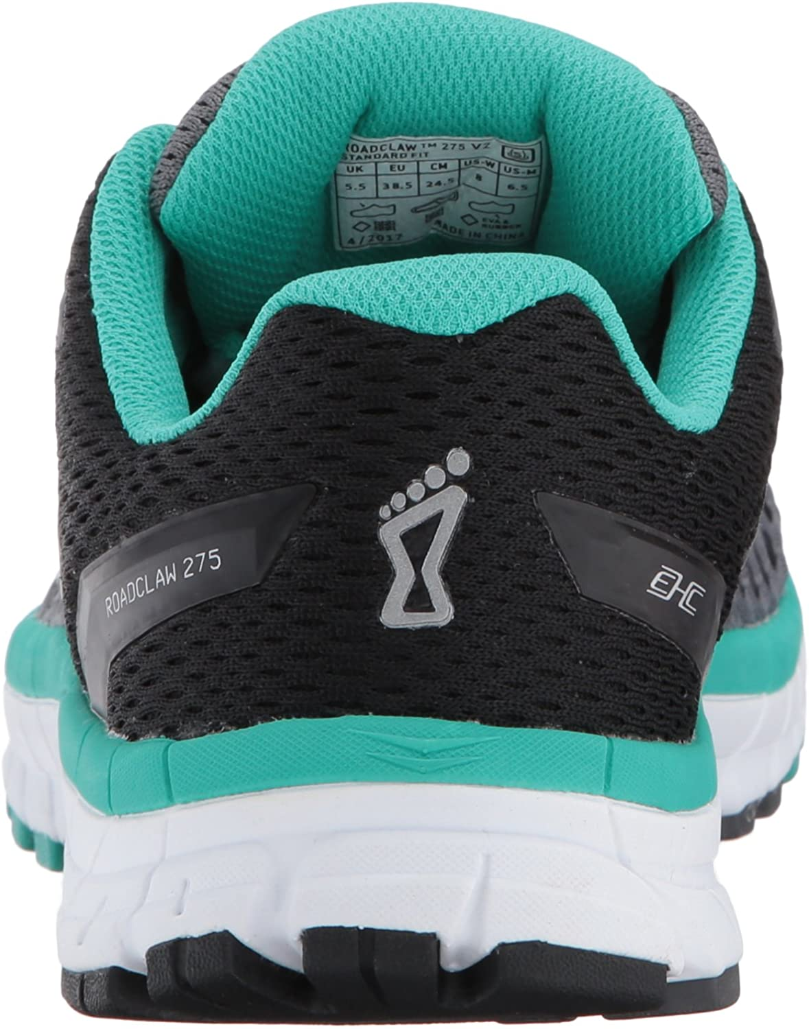 Grey//Teal Inov8 Womens Road Claw 275 V2 Road Running Shoes