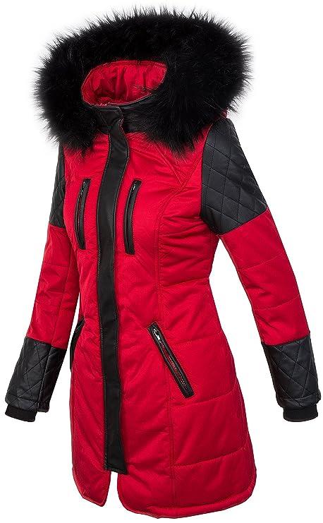 fb6e91badb18cc Rock Creek Selection Damen Jacke Outdoor Winterjacke D-355 S-XL: Amazon.de:  Bekleidung