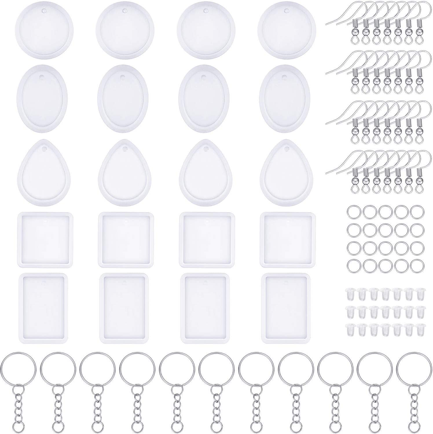 Pendant Mold Silicone Mold Resin Silicone Mould Jewelry Making Epoxy Resin Molds Jewelry Earring Resin Mold DJ/_M/_266
