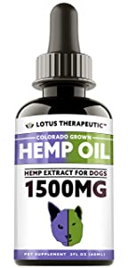 Hemp Oil Anxiety Relief Supplements for Dogs