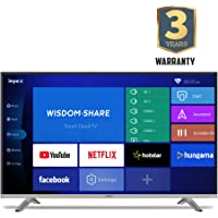 Impex 146 cm (58 Inches) 4K Ultra HD Smart LED TV GLORIA 58 SMART UHD (Black) (2019 Model)