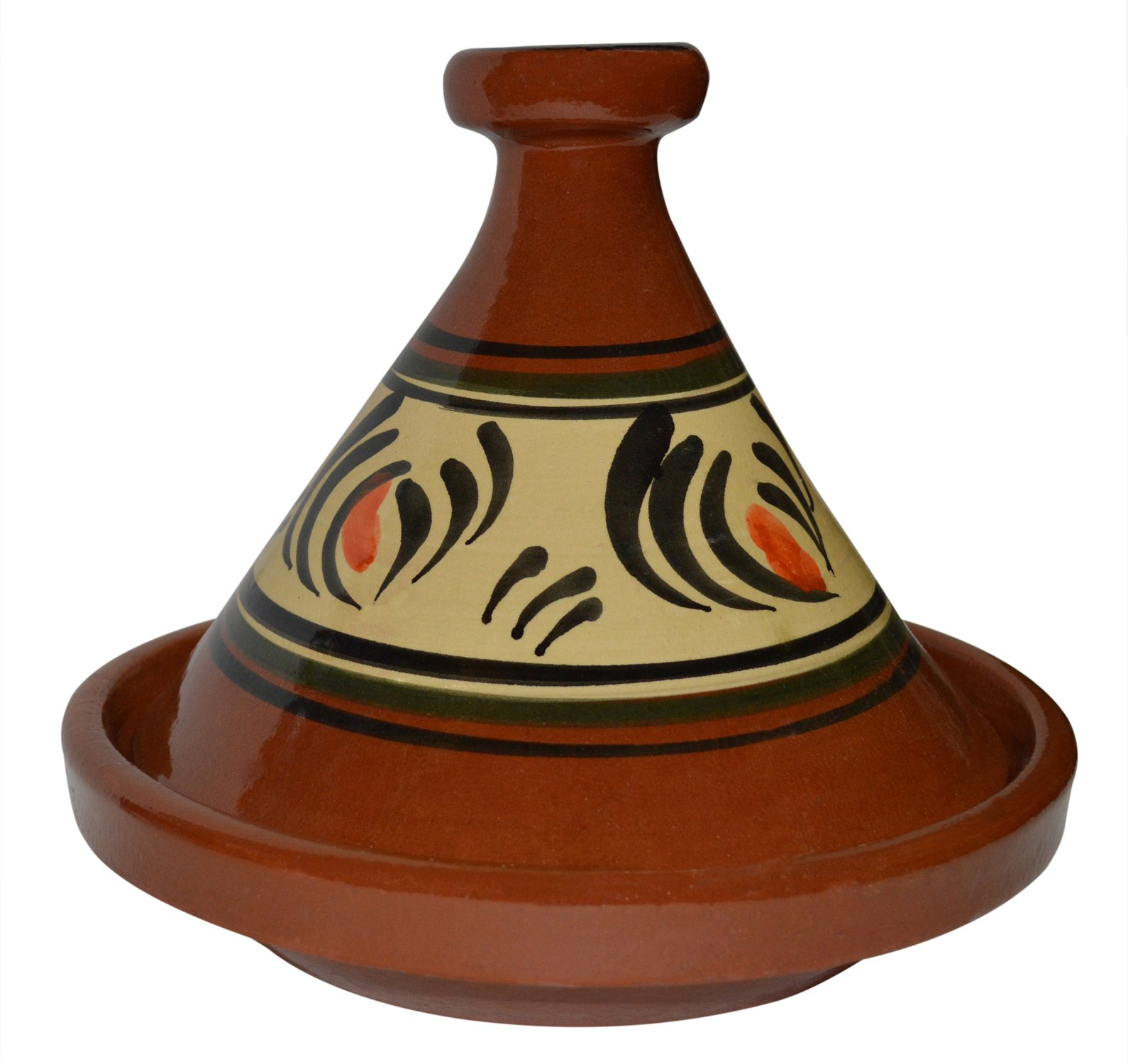 Moroccan Lead Free Cooking Tagine 100% handmade Clay Cookware by Cooking Tagines