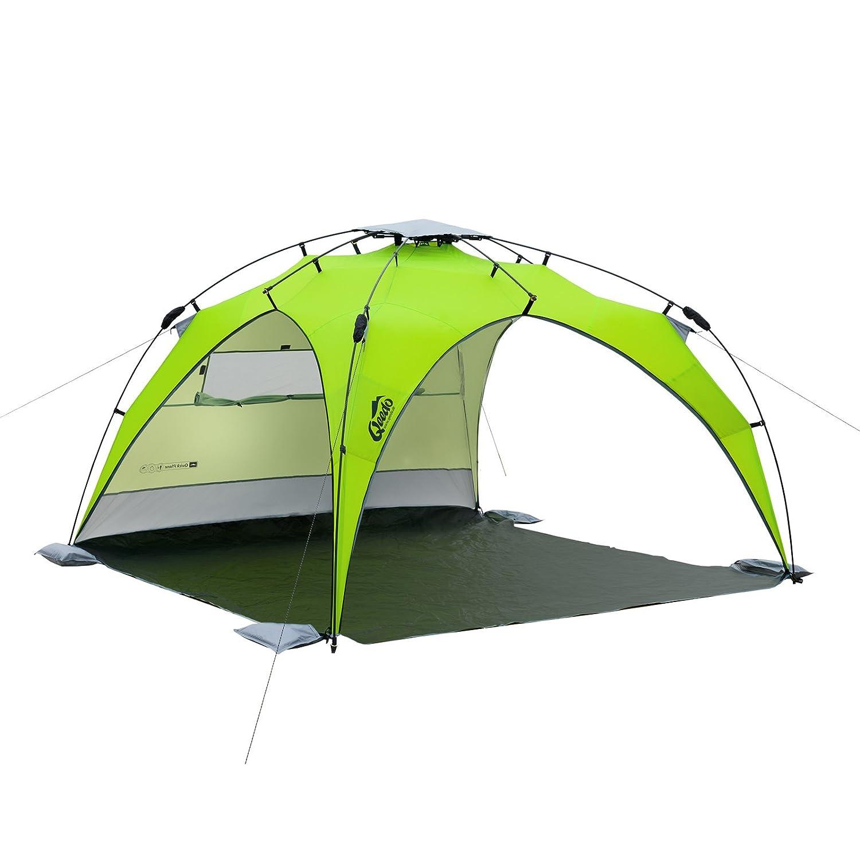 Qeedo - Quick Plane Familien Strandmuschel mit UV-Schutz (Strandpavillon)