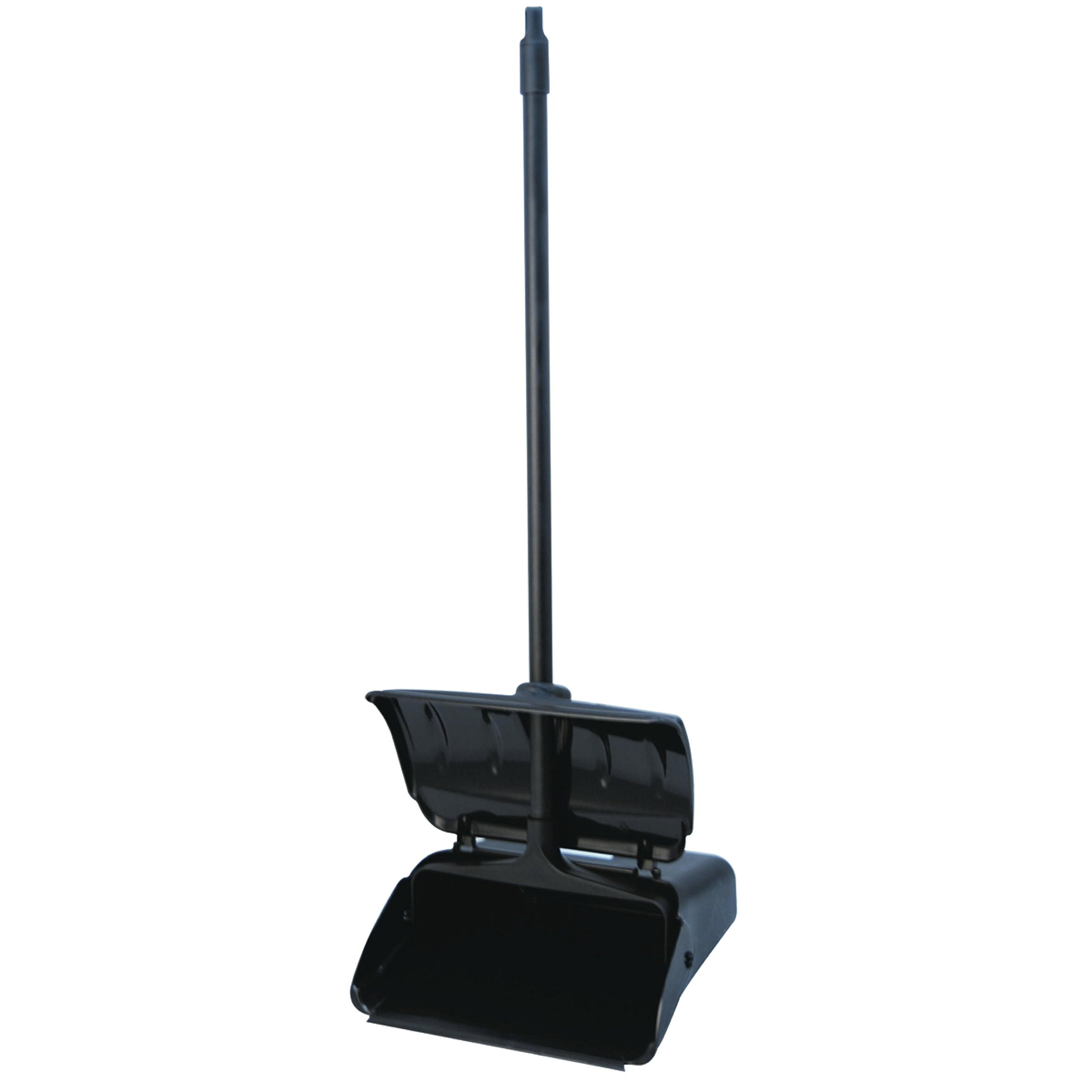 Appeal APP18108 Upright Lobby Dustpan with Lid, Black, 10Per Case - 881749