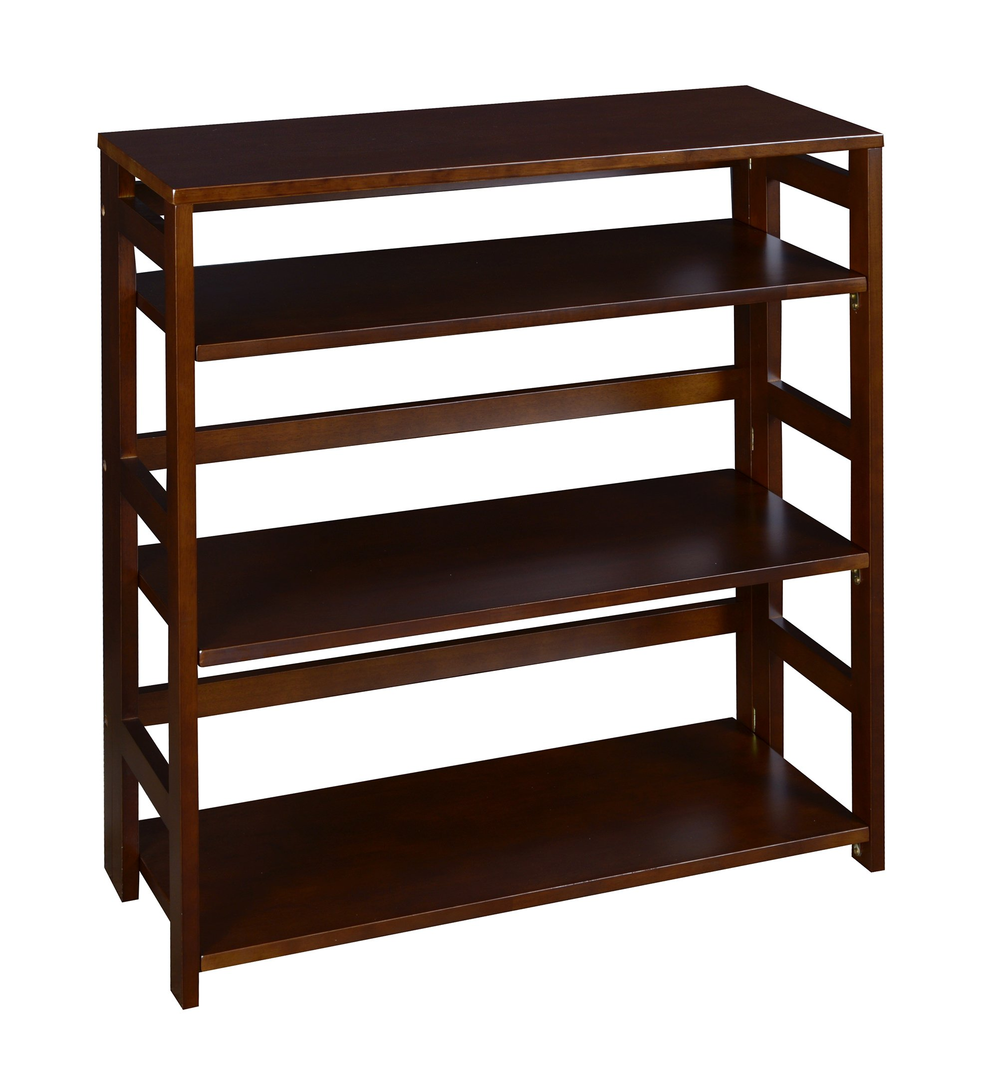 casual bookshelf folding com bookcase american furniture home nisartmacka hwy stackable shelf