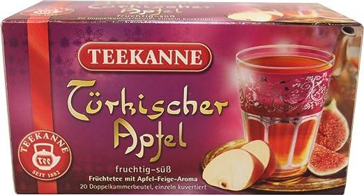 Teekanne Türkischer Apfel 20 Beutel: Amazon.de: Lebensmittel & Getränke