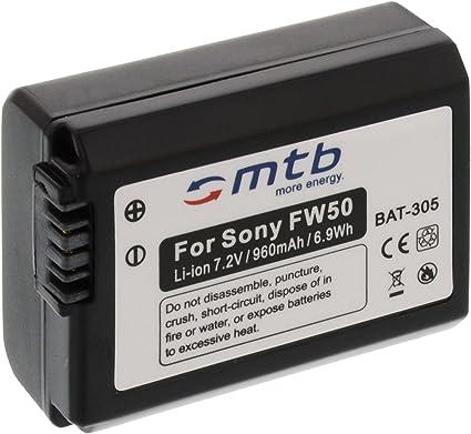 Ersatz Akku Np Fw50 Für Sony Dslr A3000 A5000 A5100 Kamera