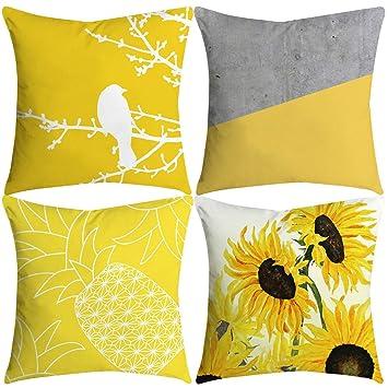 Terrific Amazon Com Muicook Decor Couch Pillow Case Sofa Cushion Machost Co Dining Chair Design Ideas Machostcouk