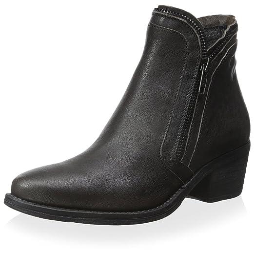 Women's Slim Double Side Zipper Ankle Boot