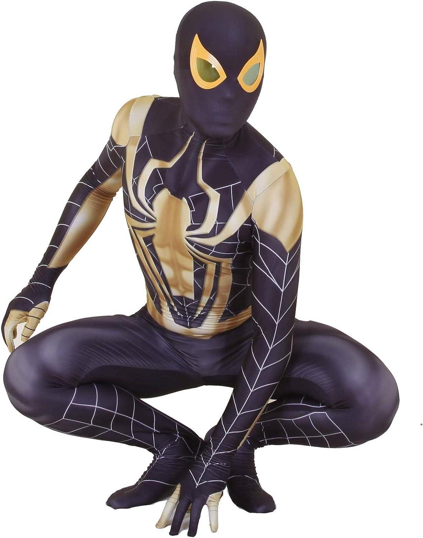 YUW PS4 Steel Spiderman Cosplay Disfraz Juego de películas Juego ...