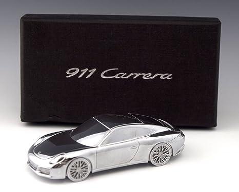 Porsche 911 Turbo edición limitada modelo Billet Aluminio/pisapapeles.