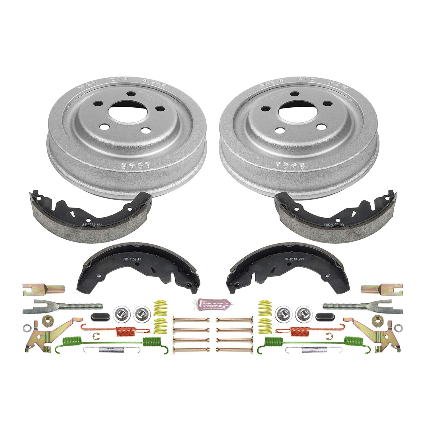 Power Stop Rear KOE15275DK Daily Driver Drum and Shoe Kits
