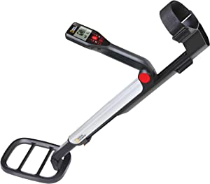 """NATIONAL GEOGRAPHIC PRO Series Metal Detector - Ultimate Treasure Hunter with Pinpointer, Large Waterproof 10"""" Coil - Lightweight and Collapsible for easy travel"""