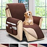 ASHLEYRIVER Reversible Recliner Chair Cover, Sofa Covers for Dogs,Sofa Slipcover,Couch Covers for 3 Cushion Couch,Couch…